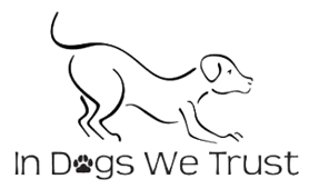 in dogs we trust logo